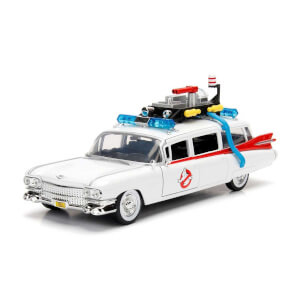 1:24 Ghostbusters Hollywood Rides Ecto-1 Model Araba
