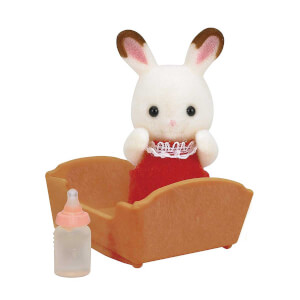 Sylvanian Families Çikolata Kulaklı Tavşan Bebek