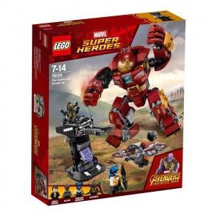LEGO Marvel Super Heroes Hulkbuster Dövüşü 76104