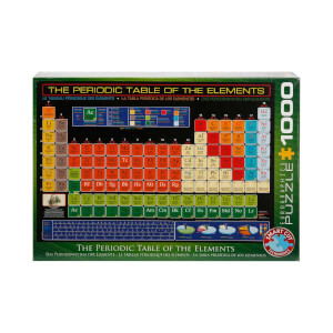 1000 Parça Puzzle : The Periodic Table Of The Elements
