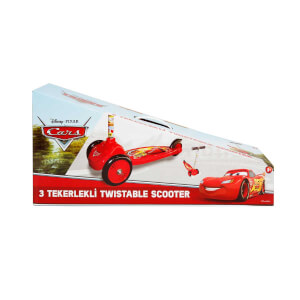 Cars 3 Tekerlekli Twistable Scooter
