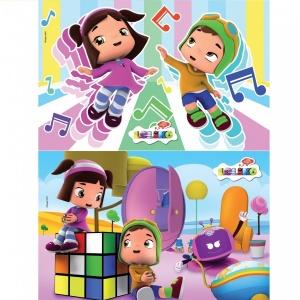 2x20 Parça Puzzle : Leliko