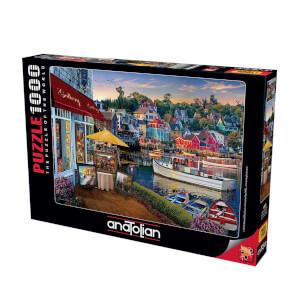 1000 Parça Puzzle : Limandaki Galeri