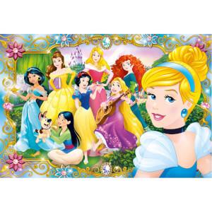 100 Parça Maxi Puzzle : Disney Princess