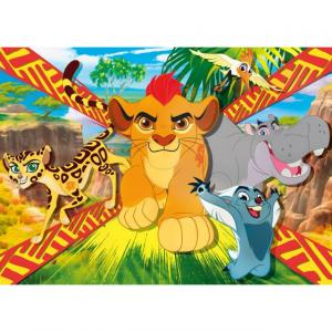 104 Parça Maxi Puzzle : The Lion Guard: Wild Team