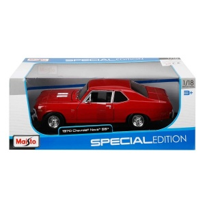 1:18 Maisto Chevrolet Nova SS Coupe 1970 Model Araba