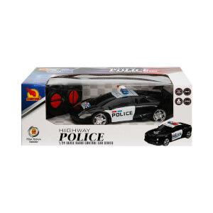 1:24 Uzaktan Kumandalı Polis Arabası