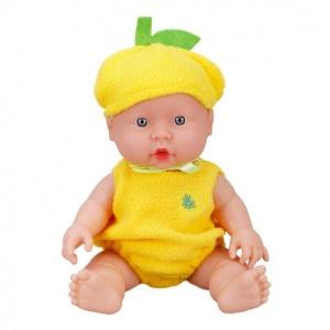 Boubou Şapkalı Sesli Bebek 25 cm.