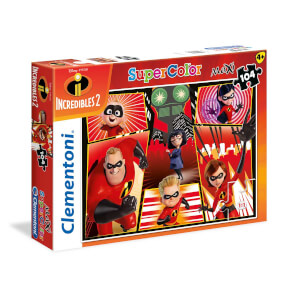104 Parça Maxi Puzzle : The Incredibles 2