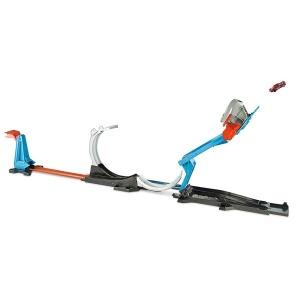 Hot Wheels Track Builder Fırlatma Aksiyonu Yarış Seti FLK60