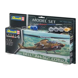 Revell 1:72 Bell AH-1G Cobra Model Set Helikopter 64956