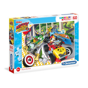 60 Parça Puzzle : Mickey and the Roadster Racers 26976