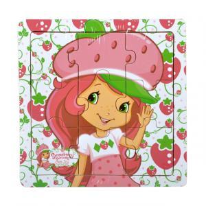 Çilek Kız ve Arkadaşları Ahşap Puzzle 9 Parça