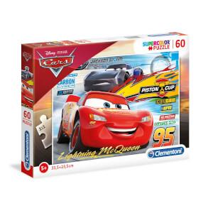 60 Parça Puzzle : Cars 3 26973