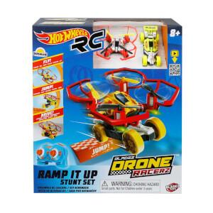 Hot Wheels Uzaktan Kumandalı Drone Racerz Rampa Seti 2.4 GHz. Işıklı
