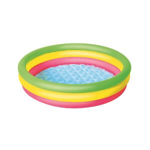 3 Halka Renkli Yuvarlak Havuz