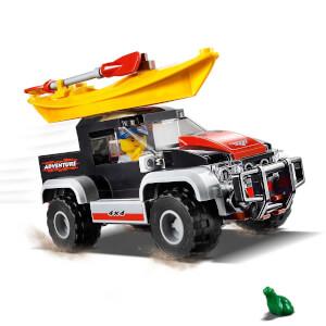 LEGO City Great Vehicles Kano Macerası 60240