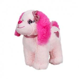 Renkli Peluş Köpek 25 cm.
