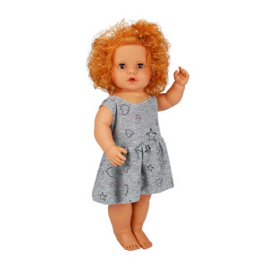 Boubou Elbiseli Bebeğim 60 cm.
