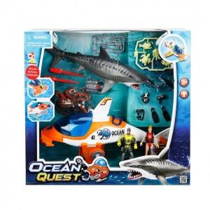 Işıklı Denizaltı Kurtarma Araçlı Oyun Seti