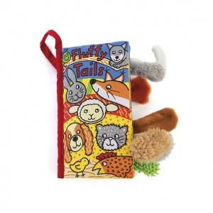 Jellycat Fluffy Tails Bez Kitap