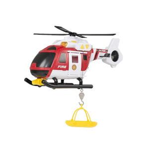 Teamsterz Sesli ve Işıklı İtfaiye Kurtarma Helikopteri