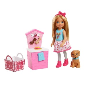 Barbie Chelsea Mutfakta Oyun Seti FHP66 (Köpek Maması)