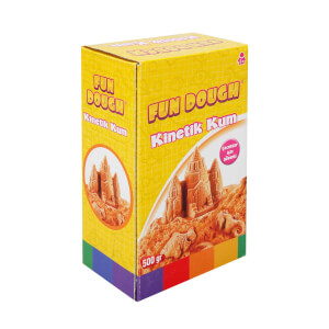 Fun Dough Kinetik Kum 500 gr. Turuncu
