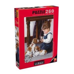 260 Parça Puzzle : Çay Saati