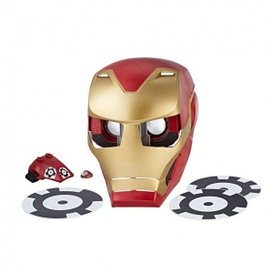 Avengers Infinity War Hero Vision Iron Man Ar Maskesi E0849