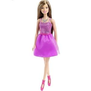 Pırıltılı Barbie  (Kahverengi Saç)