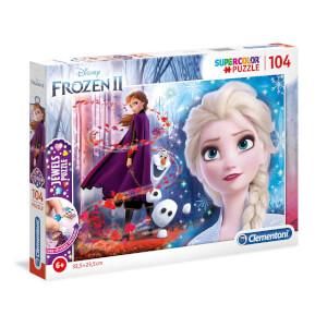 104 Parça Jewels Puzzle : Frozen 2