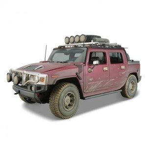 1:18 Maisto Hummer H2 Sut Concept Model Araba