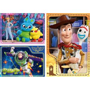 3 x 48 Parça Puzzle : Toy Story 4