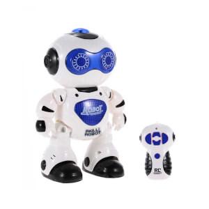Uzaktan Kumandalı Işıklı ve Müzikli Dans Eden Akıllı Robot Mavi