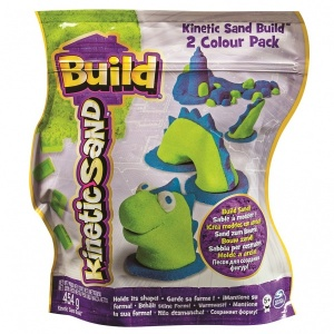 Kinetic Sand Build İki Renk