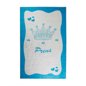 Firstmoon Prens Çocuk Halısı Mavi 120 x 180 cm.