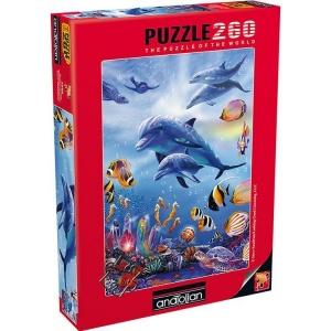 260 Parça Puzzle : Denizatı Krallığı