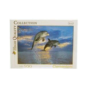 500 Parça Puzzle : Dolphins