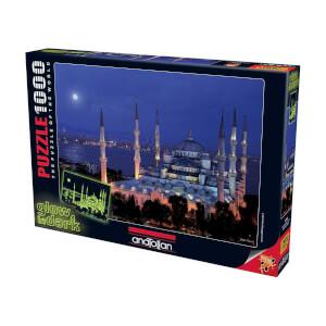 1000 Parça Puzzle : Sultanahmet Neon