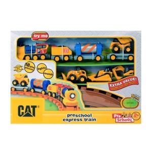 CAT Sesli ve Işıklı Tren Oyun Seti