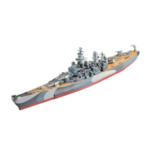 Revell 1:1200 USS Missouri WWII Model Set Gemi 65128