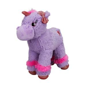 Unicorn Renkli Peluş At 28 cm.