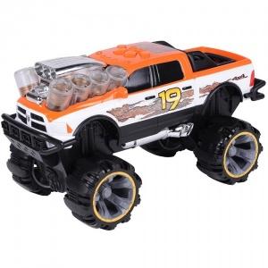 Road Rippers Dodge Ram Sesli ve Işıklı Araba (Turuncu)