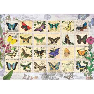500 Parça Puzzle : Kelebekler