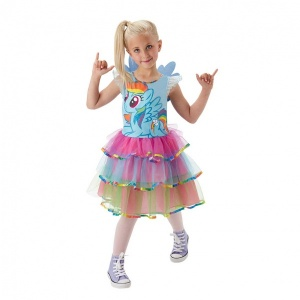 Rainbow Dash Kostüm S Beden