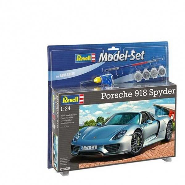revell 1 24 porsche 918 model araba spyder toyzz shop. Black Bedroom Furniture Sets. Home Design Ideas
