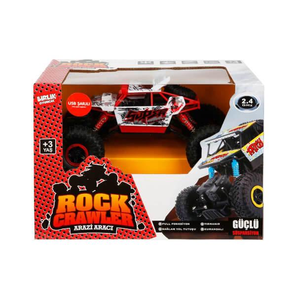 1:18 Uzaktan Kumandalı 2.4 Ghz Rock Climber Arazi Aracı