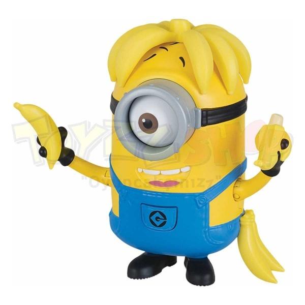 Minions 3 Figürleri 13-16 cm.(Banana Crazy Carl)