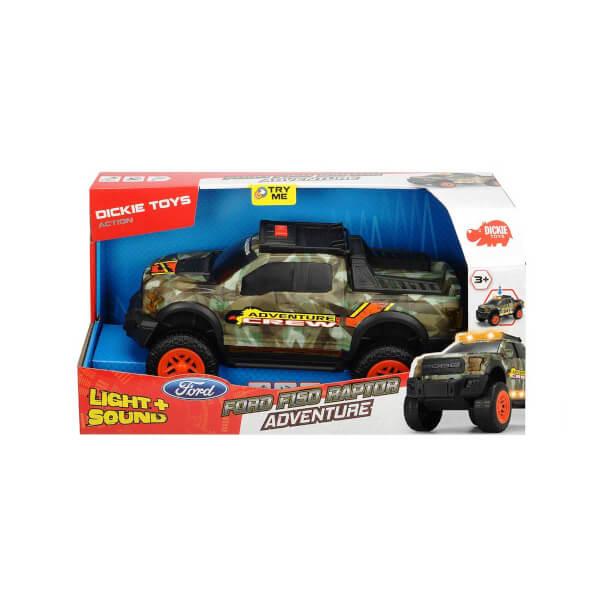 Ford F150 Raptor Kamuflaj Sesli ve Işıklı Araç 33 cm.